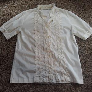 WHITE DRESS TOP!!!!!